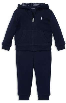 Ralph Lauren Boys' French Terry Hoodie & Jogger Pants Set - Baby