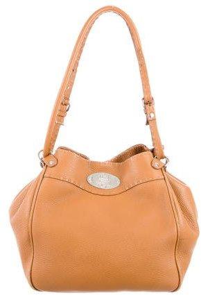 Fendi Selleria Leather Bucket Bag
