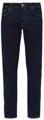 Jacob cohën Jacob CohAn - Mid Rise Slim Leg Jeans - Mens - Blue