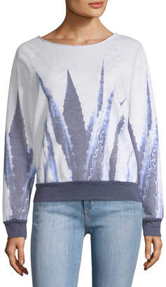 Sol Angeles Blue Agave Print Sweatshirt