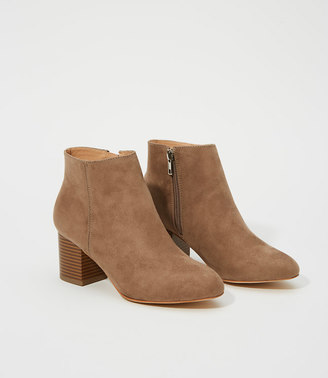 Block Heel Ankle Boots $118 thestylecure.com