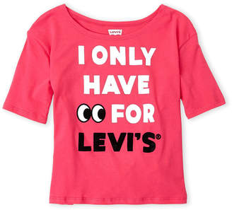 Levi's Girls 7-16) I Only Have Eyes Tee