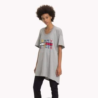 Tommy Hilfiger Draped Logo T-Shirt