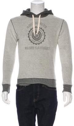 Saint Laurent 2017 Hooded University Sweatshirt w/ Tags