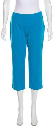 Max Mara Weekend Mid-Rise Cropped Pants