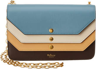 Mulberry Multi Flap Leather Clutch