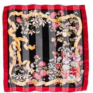 Valentino Silk Floral Scarf
