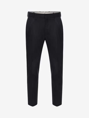 Alexander McQueen Pinstripe Patchwork Pants