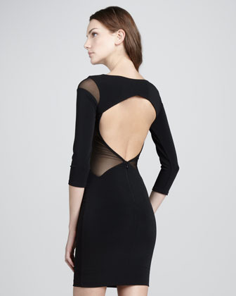 Elizabeth and James Roxy Open-Back Dress