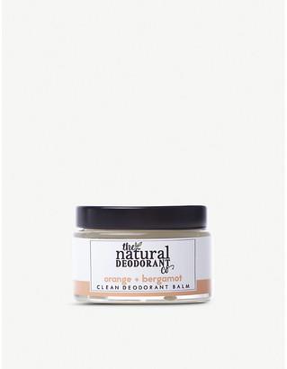 The Natural Deodorant Co Clean Deodorant Balm Orange + Bergamot