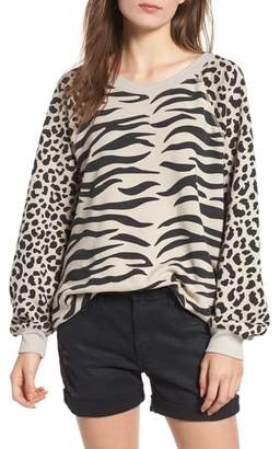 Wildfox Couture Easy Tiger Sommers Sweatshirt
