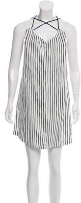 Tory Burch Striped Halter Dress