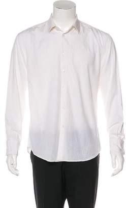 Kenzo Floral Jacquard Dress Shirt