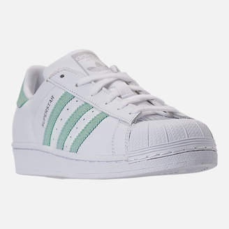adidas Women's Superstar Leather Casual Shoes