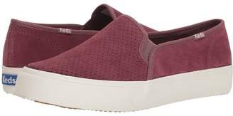 Keds Double Decker Perf Suede Women's Slip on Shoes