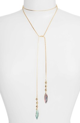 Women's Vanessa Mooney Knoxville Bolo Wrap Necklace $98 thestylecure.com