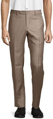 Zanella Parker Wool Flat Front Trousers