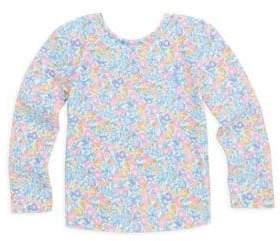 Ralph Lauren Baby's Floral Rash Sweater