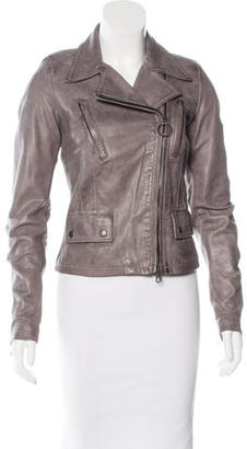 Belstaff Leather Moto Jacket $625 thestylecure.com