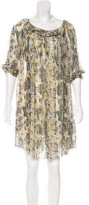 Isabel Marant Printed Silk Dress