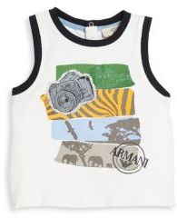 Armani Junior Armani Junior Baby's Safari Graphic Top