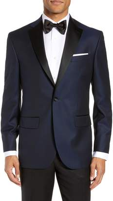 David Donahue Reed Classic Fit Wool Dinner Jacket