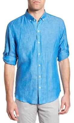 Zachary Prell Yang Linen Sport Shirt