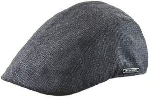 Nathaniel Cole Wool-Blend Duckbill Tweed Ivy Cap