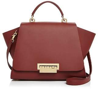 Zac Posen Eartha Iconic Soft Top Handle Large Leather Satchel
