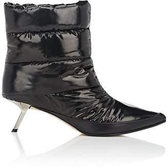 Ballin ALCHIMIA DI Women's Puffer Tech-Satin Ankle Booties