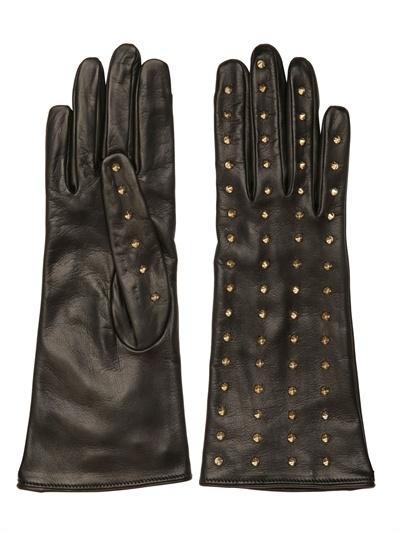 Portolano Mario Studded Leather Gloves