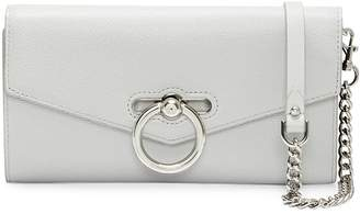 Rebecca Minkoff Jean Wallet On Chain Leather Convertible Clutch