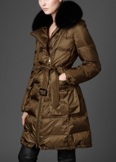 Long Down Filled Puffer Jacket