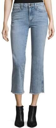 Alice + Olivia AO.LA by Alice+Olivia Perfect Cropped Kick-Flare Jeans