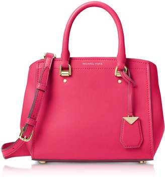 Michael Kors Benning Medium Leather Satchel