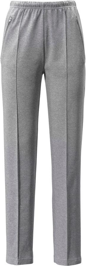 Freizeit-Hose – Modell AMANDA – aus 100% Baumwolle Peter Hahn grau Größe