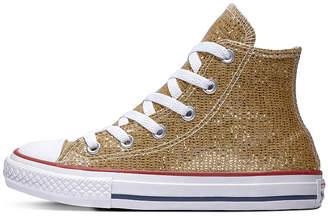 89656f851b4f Converse Chuck Taylor All Star Hi Little Kid Big Kid Girls Sneakers Lace-up