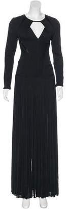 Herve Leger Embellished Amelie Gown