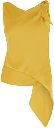 Karen Millen Knotted Drape Top