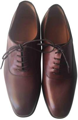 Ralph Lauren Brown Leather Lace ups