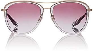Barton Perreira Women's Aviatress Sunglasses - Rose