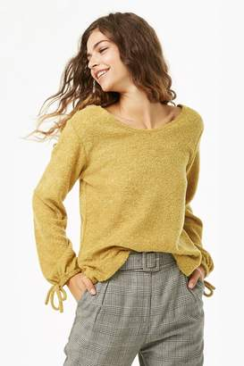 Forever 21 French Terry Scoop Neck Top