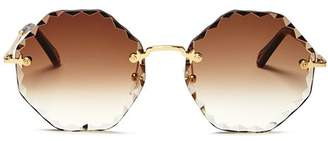 Chloé Women's Rosie Octagonal Sunglasses, 58mm
