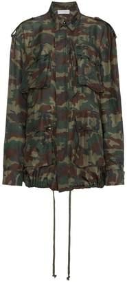 Faith Connexion Camouflage Print Drawstring Jacket