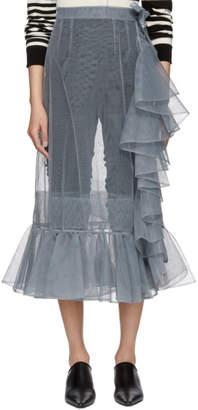 Molly Goddard SSENSE Exclusive Grey September Skirt