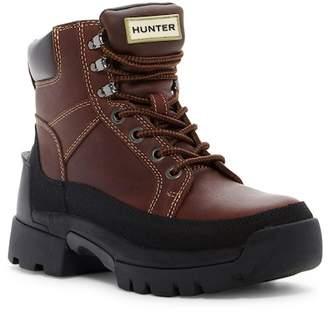 Hunter Balmoral Lace-Up Boot
