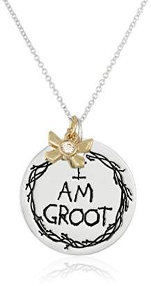 Marvel Unisex Guardians of The Galaxy I Am Groot Charm Pendant Necklace