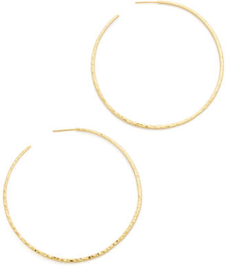 Gorjana Taner XL Hoop Earrings $70 thestylecure.com