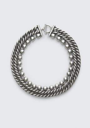 Alexander Wang BALL CHAIN STACKED NECKLACE Jewelry