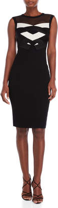 Karen Millen Two-Tone Bandage Bodycon Dress